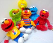 NEW ARRIVE 1PC 7 Styles Sesame Street Elmo Cookie Grover Zoe& Ernie Big Bird Stuffed Plush Toy Dolls Children Gift(China)