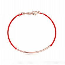 DANS ELEMENT Brand 3 metal colors new red rope bracelet simply fashion with lower price 113959