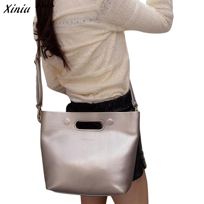 Xiniu Women Messenger Bags Metallic Color Handle Crossbody Bags For Women Handbag Bolsas Feminina #2825<br><br>Aliexpress