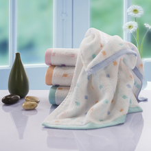 Hand Towels Washcloths For  Face Home Bathroom Outdoor And Travel Towels Cotton Soft High Absorbent Colored Squares