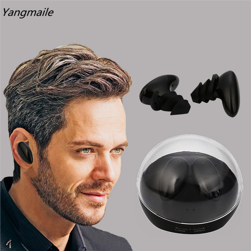 Yangmaile Mini Twins True Wireless Bluetooth Earbuds Headset Built-in Mic In-ear Free Shipping H6T6<br>