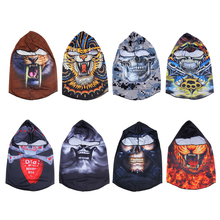 Outdoor Sports Skull Face Mask Winter UV Protect Cycling Breathable Windbreak Dustproof Riding Cap Headscarf MTB Road Bike Masks