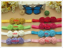 New Europe and the United States children's hair accessories three corn rose 's hair band  10pcs/lot