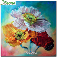 Diamond Embroidery  color Flower Diy Diamond Paintings Full Mosaic Picture Pattern Cross Stitch Rhinestone New Arrival GT199