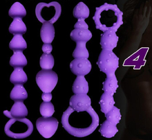 4 Pcs Different Anal Balls Plug ,Anal Sex Toys for women,Men Sexy Toys Anal Butt Plug & Anal Sex Toys