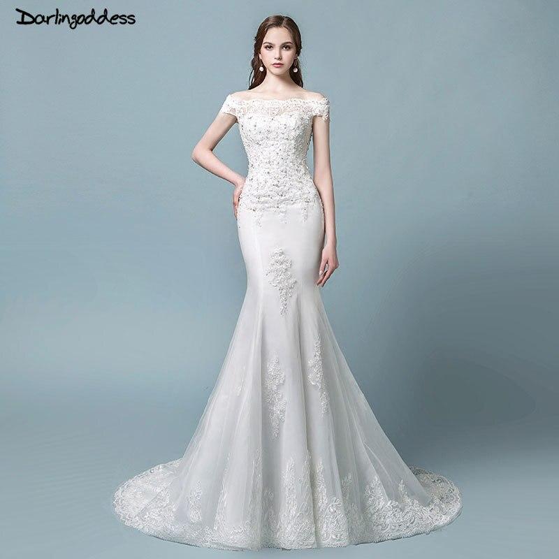 Aliexpress.com : Buy Vestido de Noiva 2018 Vintage Lace Mermaid ...