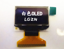 0.96 inch 30PIN white color OLED Screen SSD1306 Drive IC 128*64 Parraller 3/4 wire SPI I2C UG-2864HSWEG01(China)
