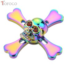 Buy TOFOCO Stress Fidget Spinner Metal Skeleton Hand Spinner High Speed Alloy Toys Anxiety Stress Adults Kid Metal Figet spiner for $7.78 in AliExpress store