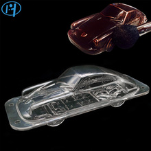 Plastic Automobile Chocolate Mold 3D DIY Handmade Sport Car Cake Candy Mold Vehicle Chocolate Making Tool Cake Decorating molds