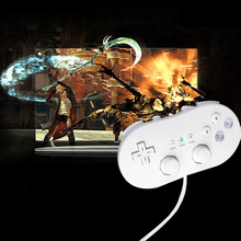Hot Selling 1 pcs NEW White Classic Game Controller Video Game Controller For Nintendo GC Remote Virtual Console Game Joysticks