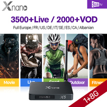 Buy X5 Full HD French IPTV Box Android 6.0 1 Year SUBTV 3500 Channels IPTV French Arabic Subscription IPTV Arab France Sports for $85.71 in AliExpress store