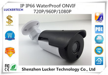 Luckertech Network IP Bullet Camera PoE Audio IP65 WaterProof ONVIF 720P/960P/1080P 2.0mp CCTV Security Mobile Survillance