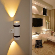 Telescope led wall light wall mounted light grey ABS 1*5W 2*5W 4*5 led lighting best for Home Decoration,Bedside,Coffee Shop,Bar