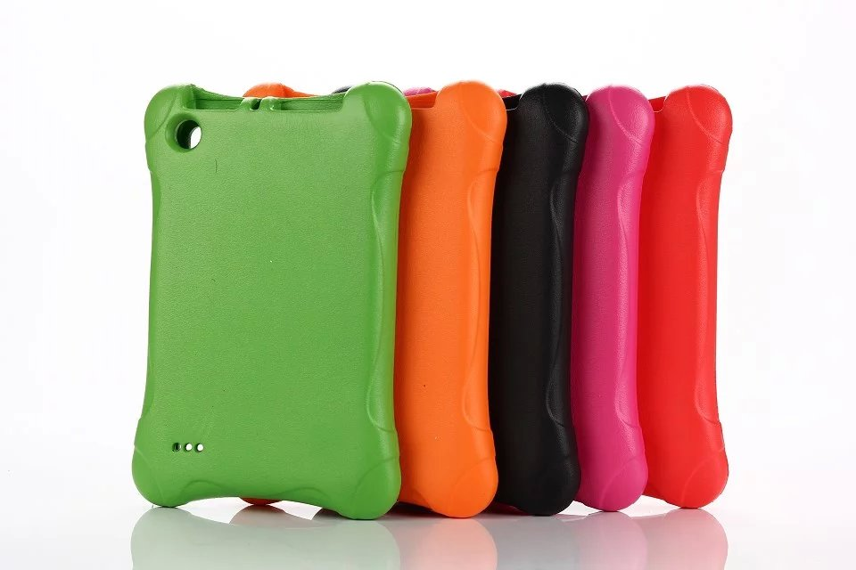 EVA Enviromental Square Shape Case Cover For Amazon Kindle Fire HD 7 HD7 2015 Version  Tablet Case Gift for Kids Children<br><br>Aliexpress