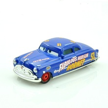 Cars Doc Hudson Metal Diecast Toy Car 1:55 juguetes cars maquetas boys car order tracking jugetes tractor