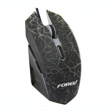 FORVE New FV-X9 Gaming backlit luminous Wired Mouse For LOL Speed With Free Driver Perfect lighting system Comfortable Hand 6D