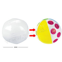 12PCS/LOT.Paint unfinished inflatable pvc ball,Christmas ball,Decorate your own beach ball,Seaside toys.Family games.Wholesale.