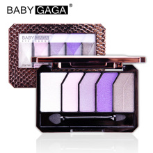 BABY GAGA 5 Colors Diamond Eyeshadow Make Up Palette Radiant Glamorous Eye Shadow Makeup Kit Palette Beauty Brand Cosmetic