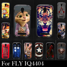 For FLY IQ 4404  IQ4404 Soft Silicone tpu Plastic Mobile Phone Cover Case DIY Color Paitn Cellphone Bag Shell Free Shipping