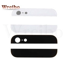 Wrcibo Back cover Glass rear housing Top and bottom Glass For iPhone 5 Replacement Parts