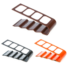 VCR DVD TV Remote Control CellPhone Stand Holder 4 Slots Storage Caddy Organiser Tools(China)