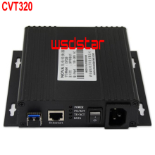 CVT320 Fiber converter CVT320 converter For LED video wall display 15KM transmission distance 2pcs/lot