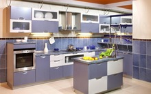 SOLO customized modern simple kitchen cabinet(China)
