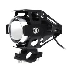 1Pcs Motorcycle Lighting U5 3000LM 125W Upper Low Beam Motorcycle Head Light  LED Driving Motorbike Lamp Driving Fog Spot