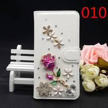 25 Styles For Motorola Moto Z Droid Handmade Bling Glitter Rhinestone Filp Luxury PU Leather Cover Wallet Case Bags for Moto Z