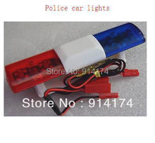 YUKALA RC Car accessories r/c car  parts Police car LED lights/ lamps  for 1/10 RC car body shell   free shipping