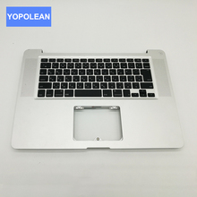 Original Palm rest Top Case Keyboard For Macbook Pro A1286 Top Case With Keyboard Japan Layout MC721 MC723 Year 2011 2012