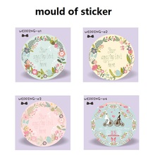 100pcs Personalized Wedding Stickers custom Candy Stickers Wedding engagement anniversary Party Favors Labels supplies Boda(China)