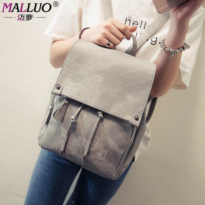Vintage Women Backpack high quality women bag Pu Leather School Bag For Teenagers Girl Backpacks Travel Bagpack Mochila Feminina<br><br>Aliexpress
