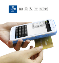 LS5S(UHF)Handheld 5''  Android Industrial Mobile Terminal PDA UHF NFC Reader with 4G,GPS,Bluetooth