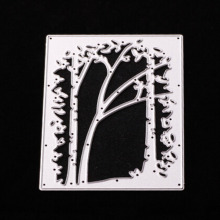92x68mm Tree Frame Metal Cutting Dies Embossing Scrapbooking Stencils Craft For DIY Card Album Photo Painting Decoration