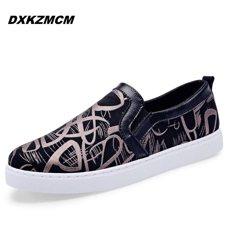 2017 Handmade Men Flats Canvas Driving Loafers Men Mocassins Gommino Boat Shoes<br><br>Aliexpress