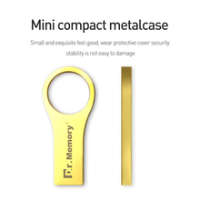 metal USB 2.0 tiny thin USB Stick usb Pendrive aluminium Flash Drive golden Pen Drive 4g usb flash drive 32gb funny U Disk