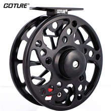 Goture SPARK Large Arbor Fly Fishing Reel 5/6 7/8 2+1BB Max Drag 8kg Waterprrof CNC-machined Aluminum Fishing Fly Reel(China)