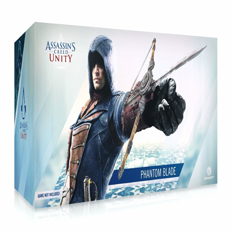 1pcs Assassins Creed 5 Arno Dorian phantom blade Pirate Hidde PVC Weapons Sleeve Sword Accessories Props Gifts Toys 1:1 Cosplay <br><br>Aliexpress
