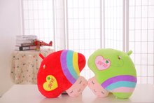 40cm*40cm Lucky Wishing Cloud Plush Toy Pillow Fresh Color Lover Gift Free Shipping XTY051 Valentine's Day gift