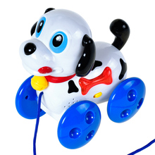 Naughty Electronic Pet Dog Playful Electric Music Puppy Cute Electric Pet Toys for Children Baby Boy Girls Gift 2017 New(China)