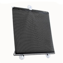 for front or side Retractable Car Auto Sun Shade Block Windshield Rear Window Mesh Sun Visors New car-styling car accessories(China)