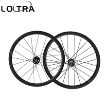 LOLTRA 38mm tubular fixed gear(track) carbon wheelset single speed flip flop wheels(China)