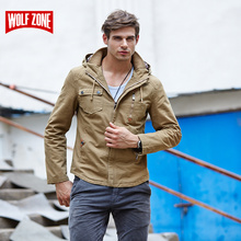 Sale Bomber Jacket Men Brand Clothing Tactical Army Military Mens Spring Zipper Motorcycle Conventional Solid Waterproof Cotton(China)