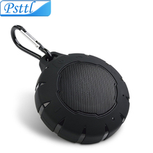 Portable Bluetooth Speaker, Psttl IPX7 Waterproof/Dustproof Outdoor Wireless Speaker with Enhanced Bass and Built-In Microphone(China)