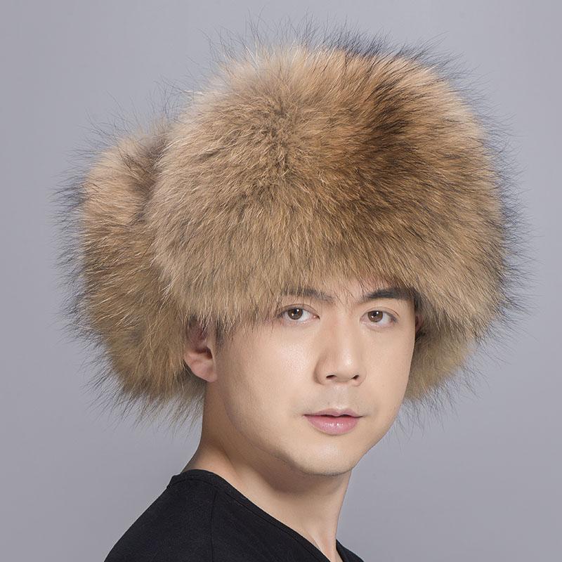 big fur hat raccoon fur 1