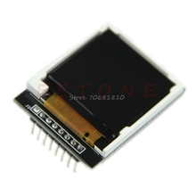 "1.44"" Serial LCD Display 128*128 SPI TFT Color Screen With Adapter 5110 PCB -R179 Drop Shipping(China)"