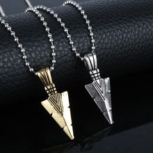 Men's Hip Hop Jewelry Pharaoh Spear Arrow Pendant&Necklace Beads Chain Colar Collier