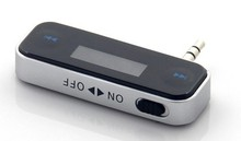30pc/lot.  DHL free . High Quality Wireless 3.5mm In Car Fm Player For Touch Galaxy.mobile phone.etc