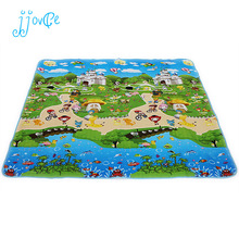 beach Baby toy double-faced foam Play Mat, Letter animal paradise Safety+Gym floor Mat,Kids Climb Blanket 270370(China)